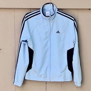 Adidas/Women's Athletic Jacket 3 Stripe Full Zip